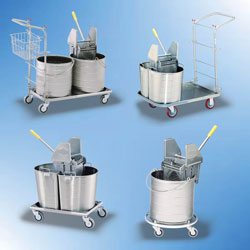 Click Here for Floor Care Units including Wheeled Tanks with 