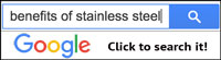 Google Search Benefits of Stainless Steel