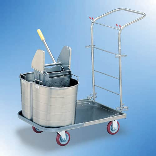 Carry All Cart with Buckets and Wringer