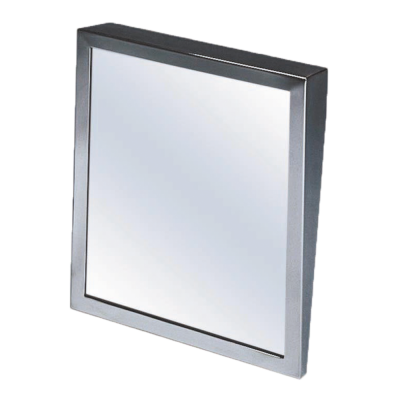 Fixed Tilted Framed Glass Mirrors