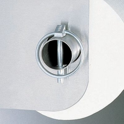 Clip for toilet paper dispensers