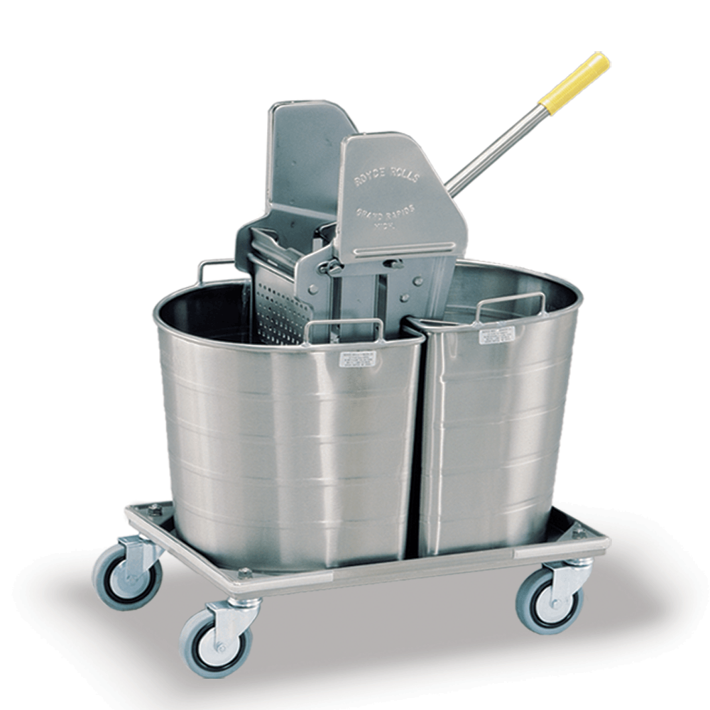 Large Buckets Trolley Platform Cart