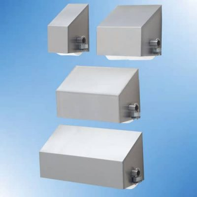 Heavy duty stainless steel covered slanted tp dispensers