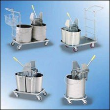 Roycerolls Net Stainless Steel Carts Dispensers Buckets