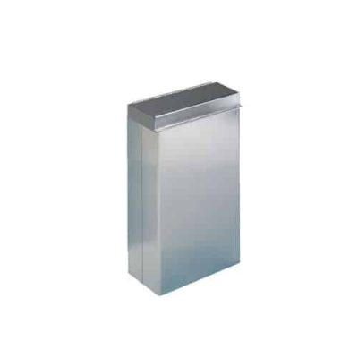 Stainless Steel Bin with Lid
