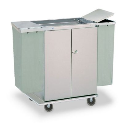 Linen Cart Double Door