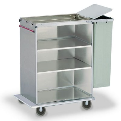 Shelved Housekeeping Cart