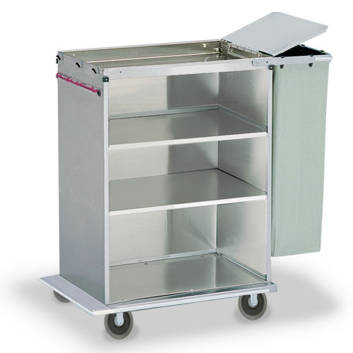Linen Cart With Bag Amp Lid