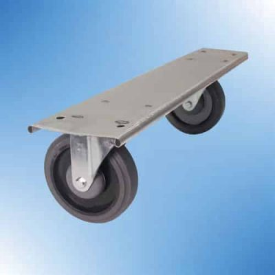 Stainless Cart Swivel Plates