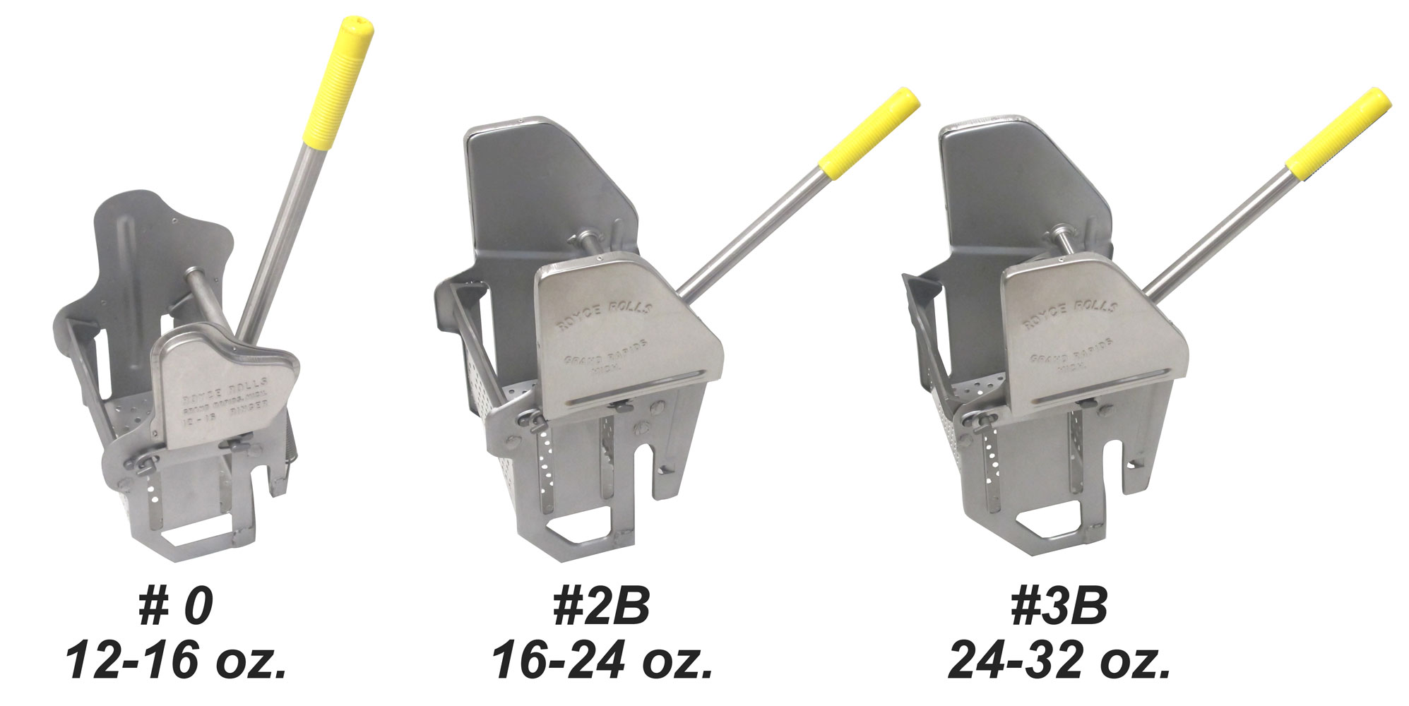 Mop wringers made of stainless steel