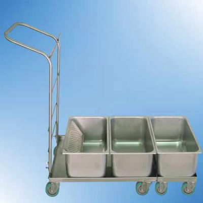 Autoclavable tub platform cart
