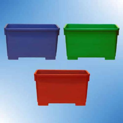 Autoclavable plastic tubs