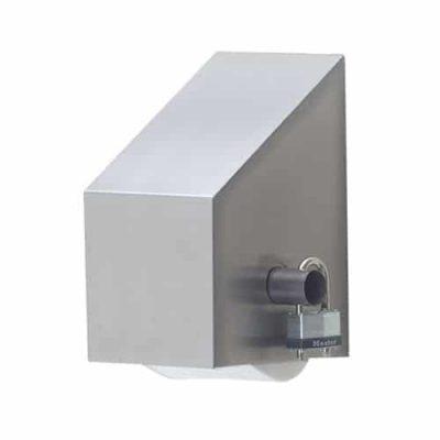 Large single roll toilet paper dispenser