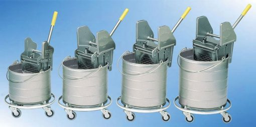 Single Buckets with Wringers