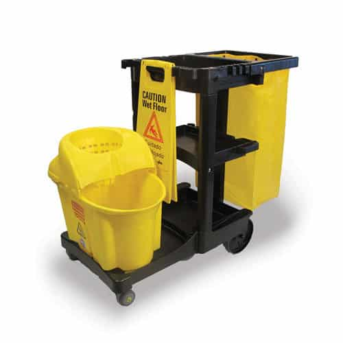 Non Magnetic Mri Room Cleaning Cart