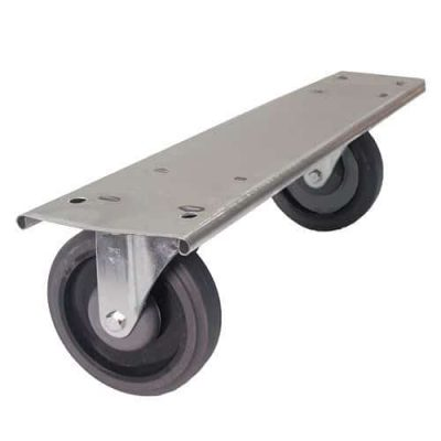 swivel wheel plate