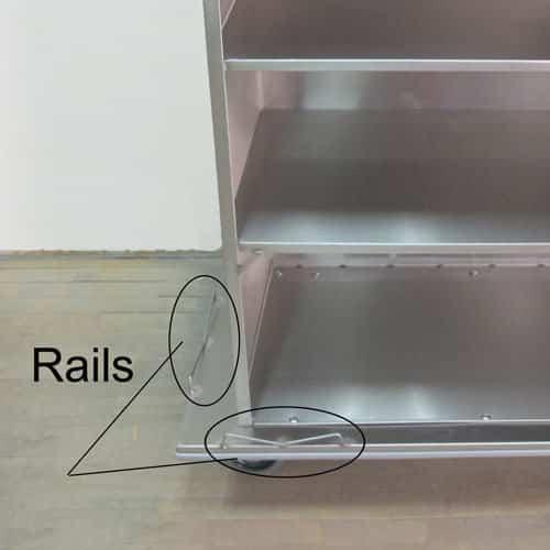 Linen Cart Rails
