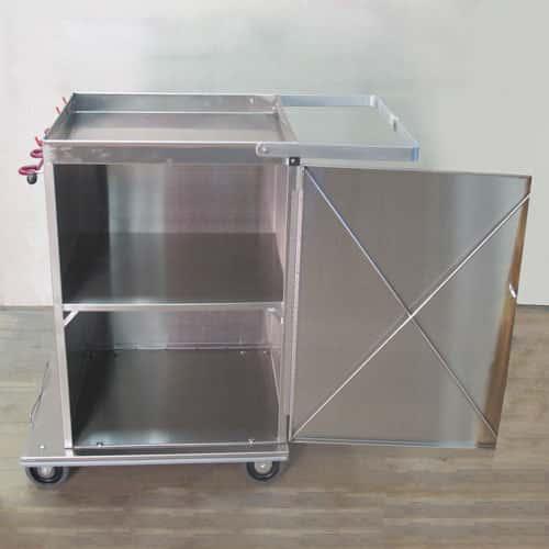 Short Wide Microfiber Cart