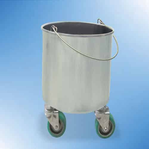Heat Resistant Castered Drawn Bucket