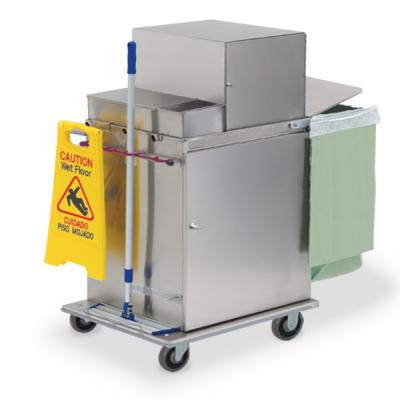 Microfiber Cart with lock box
