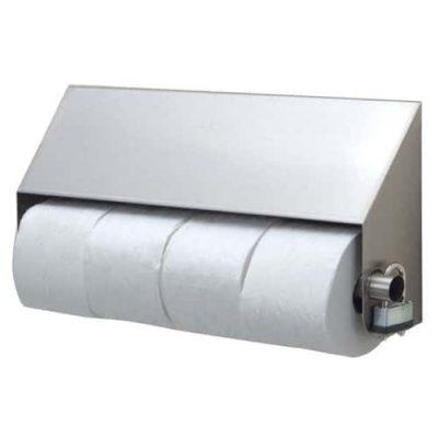 STP-4 Slanted Four-Roll Toilet Paper Dispenser
