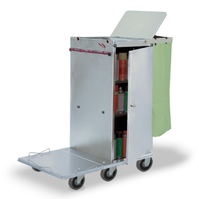 Folding Platform Cart with Snap rack