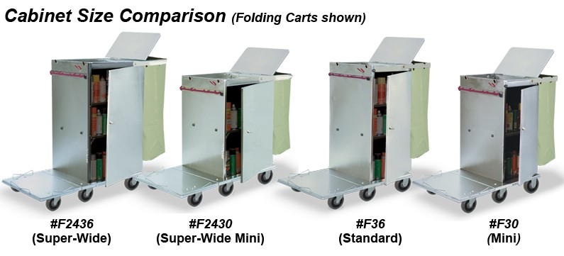 Industrial Stainless Steel Cabinet Carts