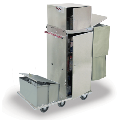 Stainless Steel Environmental Service Cart
