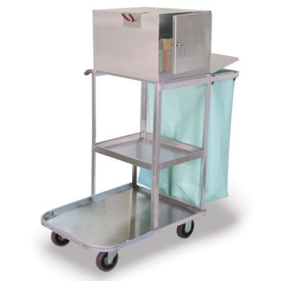 Verse-Utility Cart with Locking Top Box