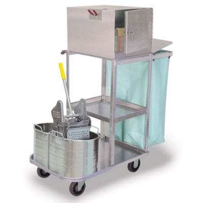 Verse Utility Cart with Double Buckets