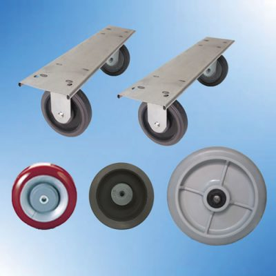 Caster Plates - Wheels