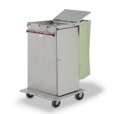 Microfiber carts with door, bag, lid