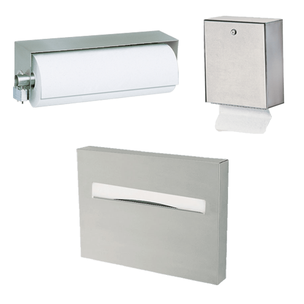 Paper Towel & Seat Cover Dispensers