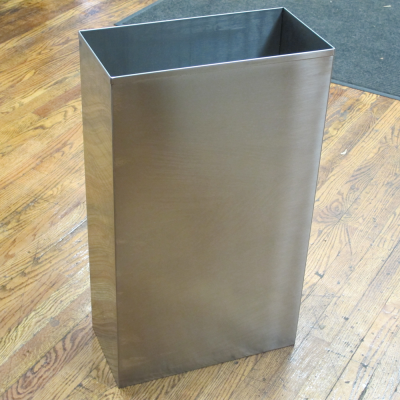 scratch dent rectangular waste bin