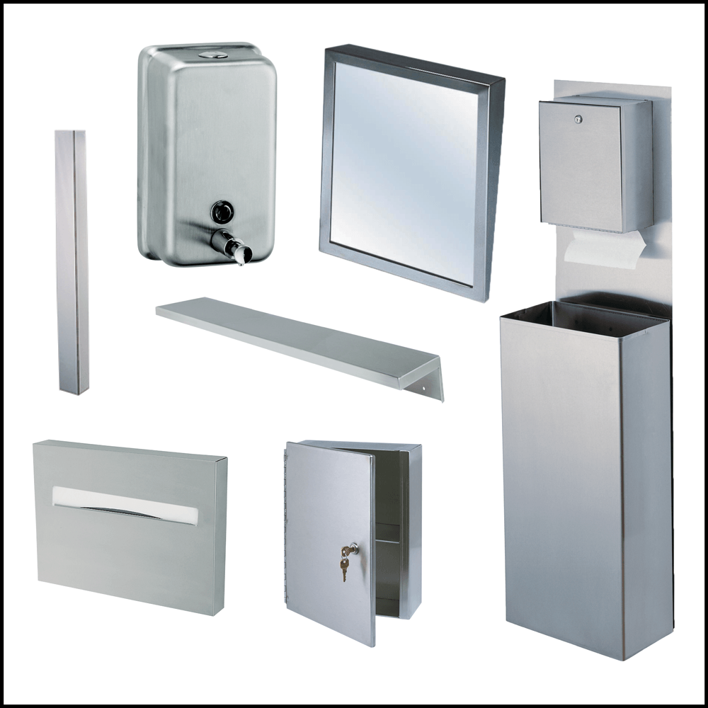 Stainless Bathroom Fixtures