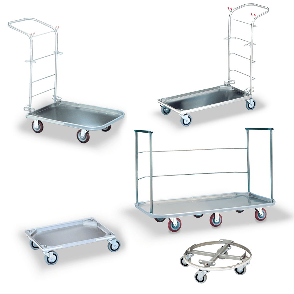 Stainless Steel Utility Carts Amp Carriers Roycerolls Net