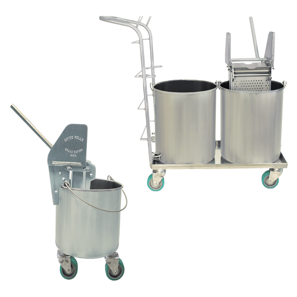 String Mop Seamless Bucket Systems