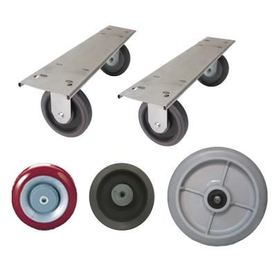 Caster Plates - Wheels