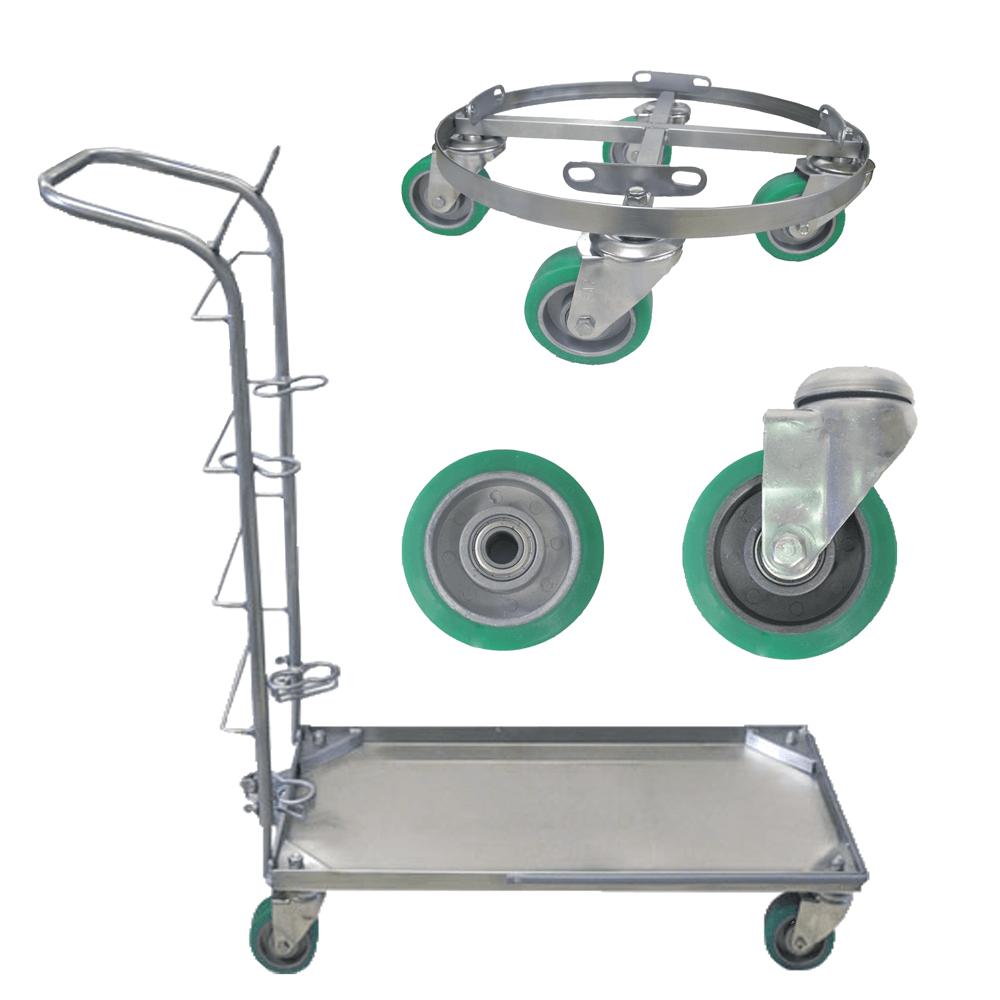 Autoclavable Platform Carts, Wheelbases & Casters