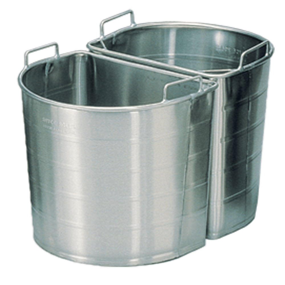 Stainless tapered buckets