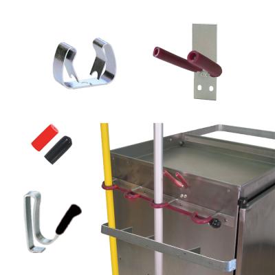 Cart Tool Rack - Clips - Hooks
