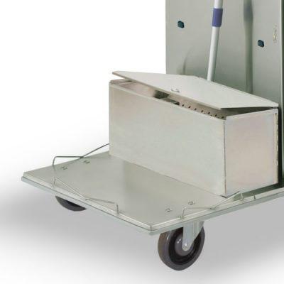 #LST1 - Single Microfiber Tub with Locking Lid