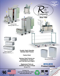 Royce Rolls 2019 Product Catalog