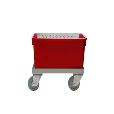 Polypropylene Single Flat Mop Tub Carriers