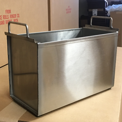 Microfiber small tub stainless steel