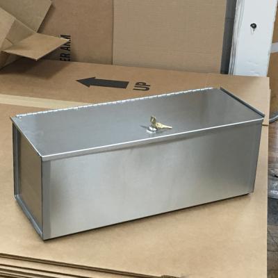 Single Stainless Microfiber Locking Tub