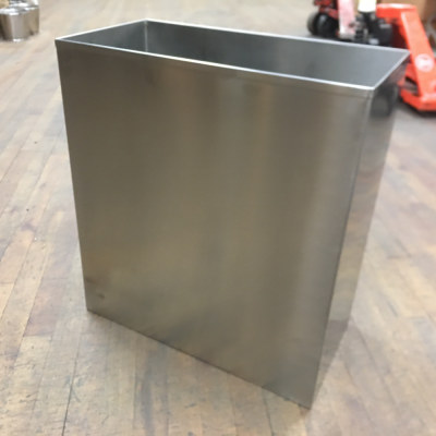 Large Stainless Steel Recycling Bins