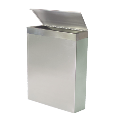 Stainless Waste Bin with Covered Liner Frame