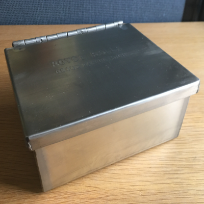 Stainless Steel Ash Boxes